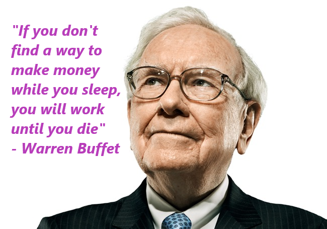 Make money while you sleep…