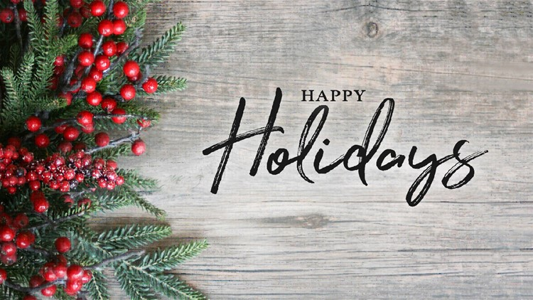 Happy Holidays from all of us at Westhawk Property Management